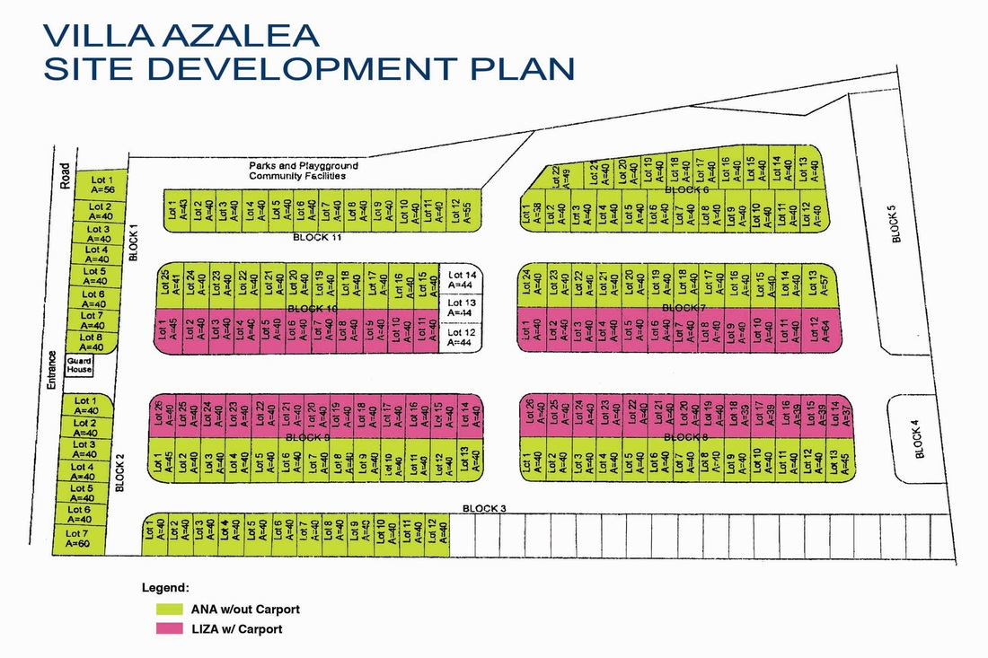 Villa Azalea Villa Azalea Subdivision Cot Cot Lilo An Affordable House And Lot Bare Units